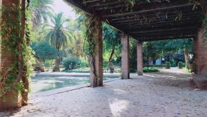 マリアルイサ公園の風景