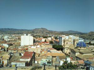 ペトレル城からの眺め