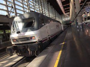 AVEの電気機関車