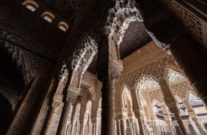 アルハンブラ・ナスル宮殿内部